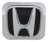 """Honda Trailer Hitch Cover - 2"""" Hitches - Stainless Steel - Chrome and Black Stainless Steel AUT-HON-C"""