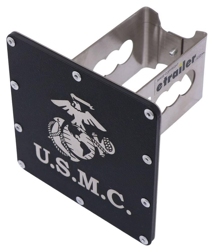 AUT-USMC-RB - Logo Au-Tomotive Gold Hitch Covers