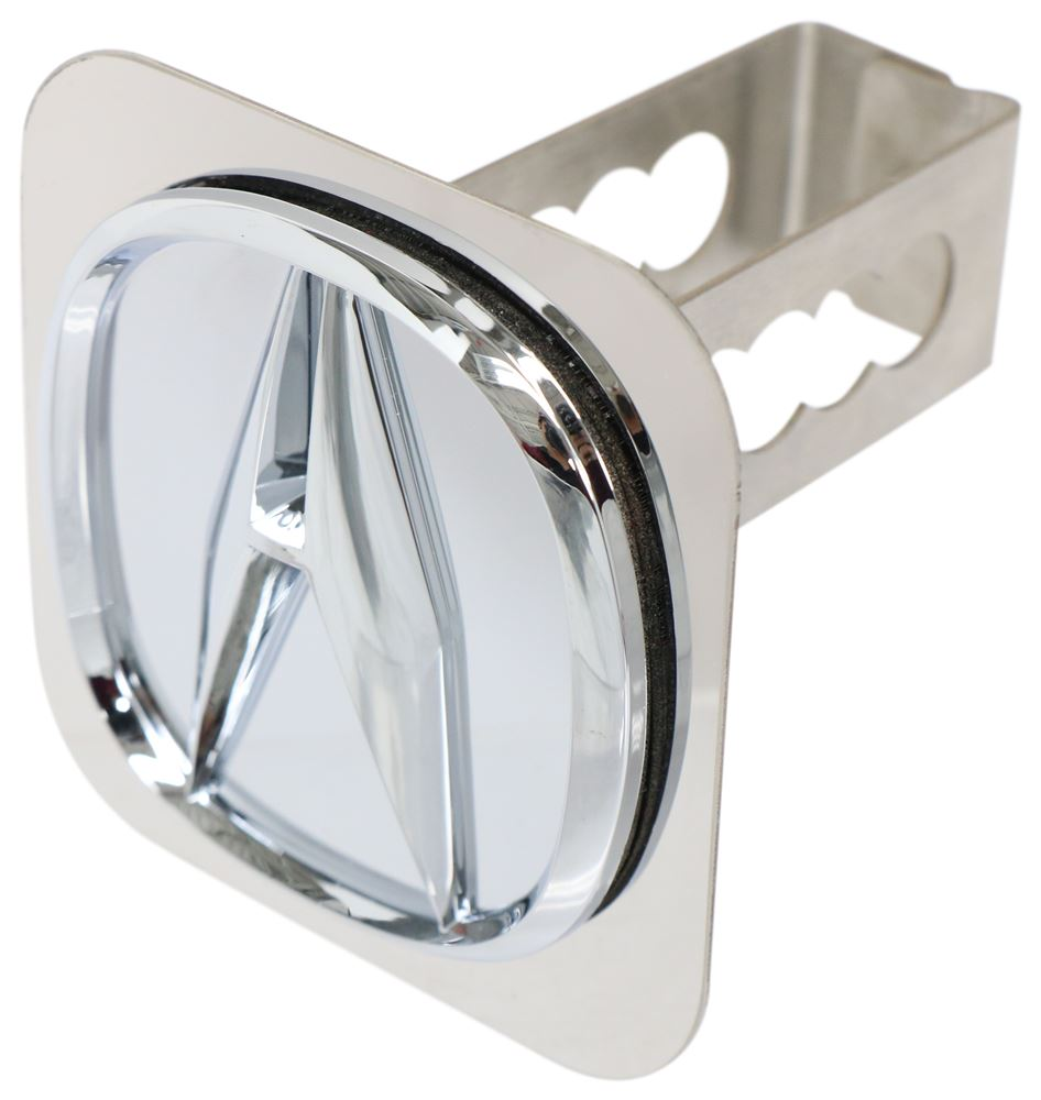 Hitch Covers AUT2-ACUP-C - Stainless Steel - Au-Tomotive Gold