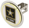 Hitch Covers AUT2-ARMY-C - Stainless Steel - Au-Tomotive Gold
