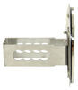 """Traditional Cadillac Trailer Hitch Cover - 1-1/4"""" Hitches - Stainless Steel - Chrome and Black Round AUT2-CADB-C"""