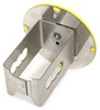 """Smiley Face Hitch Cover - 1-1/4"""" Hitches - Stainless Steel - Yellow Fits 1-1/4 Inch Hitch AUT2-SMI-C"""