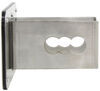 "Ford F-150 Trailer Hitch Cover - 2"" Hitches - Brushed Stainless Steel F-150 AUTF152S"