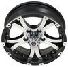 "Aluminum Viking Series Valhalla Trailer Wheel - 15"" x 5"" - 5 on 4-1/2 - Silver Spoke 5 on 4-1/2 Inch AX02550545BMMFL"