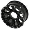 "Aluminum Viking Series Valhalla Trailer Wheel - 16"" x 6-1/2"" - 8 on 6-1/2 - Black Spoke 8 on 6-1/2 Inch AX02665865HDBML"