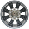 "Aluminum Viking Series Valkyrie Trailer Wheel - 16"" x 6-1/2"" - 8 on 6-1/2 - Gunmetal Gray Best Rust Resistance AX02665865HDGMML"