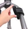 "Kuat Beta - Folding 2 Bike Aluminum Rack for 1-1/4"" Trailer Hitches - Gun Metal Gray Frame Mount B202-114"