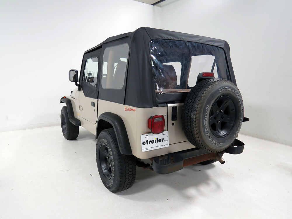Bestop 51291-01 Hood Latch Black Metal 1942-1995 Jeep CJ Wrangler