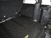 Bestop Custom Cargo Area Floor Liner - Black Contoured B5150701 on 2015 Jeep Wrangler Unlimited