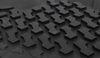 bestop floor mats custom fit rear auto liners - black