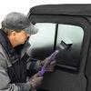 Bestop Upper Door Sliders for Jeep Wrangler, Wrangler Unlimited 1997-2006 - Black Denim Front Door B5178715