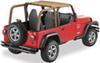 bestop jeep tops alternative header bikini for - spice