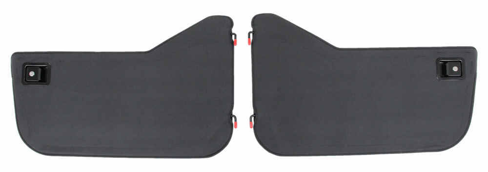 Bestop Soft Lower Half Doors for Jeep - Black Denim Black B5303915