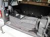 Bestop RoughRider Custom Rear Cargo Area Organizer for Jeep - Black Diamond Black Diamond B5413735