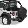 bestop rv covers tire and wheel 32 inch tires extra-large cover for x 12 jeep - black twill