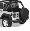 "Bestop XX-Large Tire Cover for 33"" x 13"" Jeep Tires - Black Twill Black Twill B6103317"