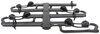 kuat hitch bike racks platform rack fold-up tilt-away nv 2.0 base for 4 bikes - 2 inch hitches wheel mount matte black