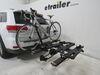2015 jeep grand cherokee hitch bike racks kuat platform rack fold-up tilt-away in use
