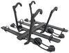 kuat hitch bike racks platform rack fits 2 inch nv 2.0 base for 4 bikes - hitches wheel mount matte black