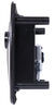 bauer products rv door parts compartment latches baggage slam latch - black
