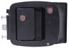 bauer products rv locks locking latch slam motorhome door lock - black