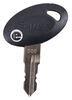 BA85ZR - Keys Bauer Products RV Door Parts,RV Locks