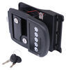 bauer products rv door parts entry keyless camper lock - right hand 6-1/8 inch wide x 4-5/8 tall