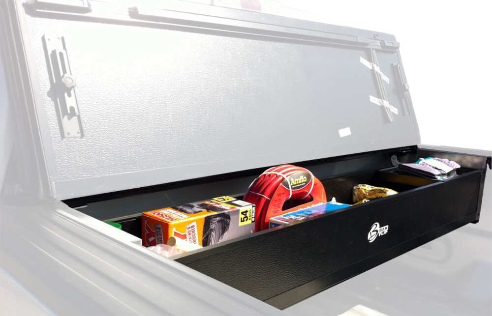BAKBox 2 Collapsible Truck Bed Toolbox for BAK Revolver X2, BAK Roll-X, and BAKFlip Tonneau Covers Toolbox BAK92125