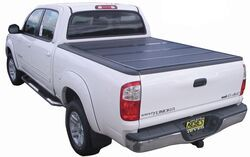 Folding Tonneau Cover Recommendation For 2012 Toyota Tundra That Mounts Flush Etrailer Com