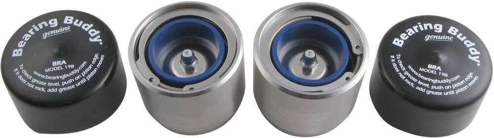 BB1980A-SS - Bearing Protector Grease Cap Bearing Buddy Caps
