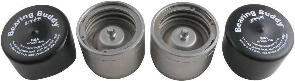 Bearing Buddy Bearing Protector Grease Cap Trailer Bearings Races Seals Caps - BB2240SS