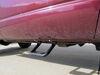 """Bully Black Bull Side Steps - Aluminum - Matte Black - 7"""" Step - 1 Pair Fixed Step BBS-1103 on 2003 Dodge Ram Pickup"""