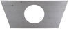 """Bulldog Jack Support Plate - A-Frame - 2-1/3"""" Diameter Hole Support Plates BD003135"""