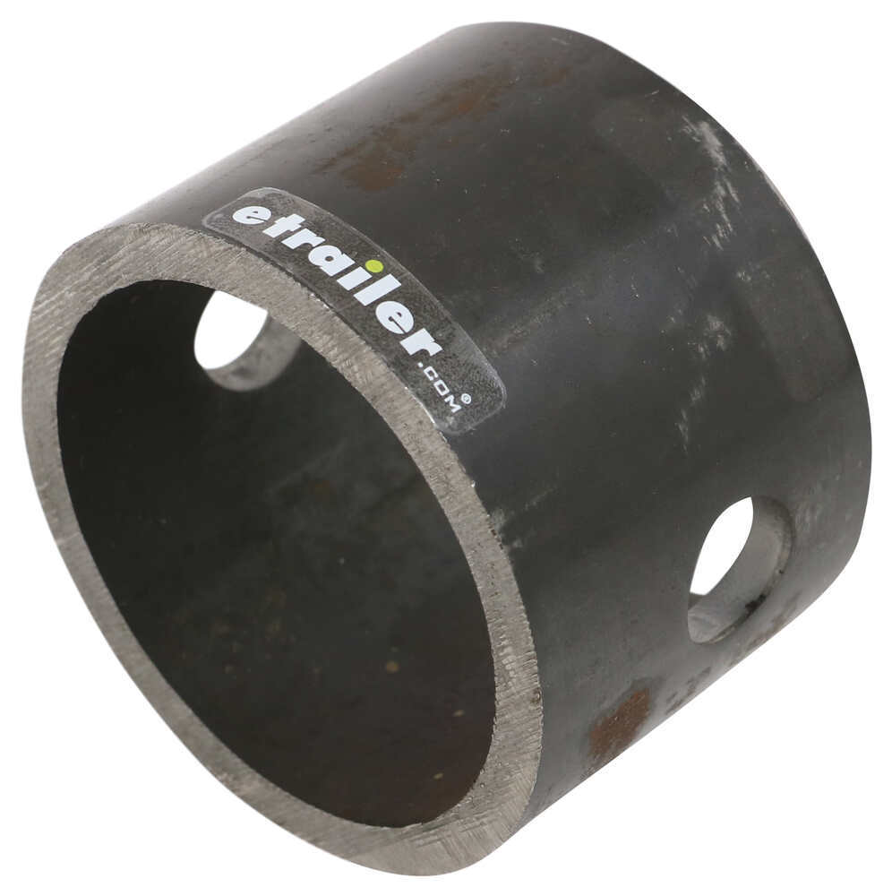 """Bulldog 2-4/5"""" Long, Weld-On Jack Pipe Mount for 3-1/4"""" Male Mount and 7/8"""" Pin Pipe Mount BD005122"""