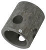"Bulldog 2-1/4"" Long, Weld-On Jack Pipe Mount for 2-1/2"" Female Mount and 5/8"" Pin Mounting Brackets BD015279"