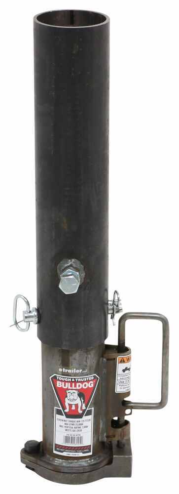 BD0289250300 - Round Tube Bulldog Coupler with Outer and Inner Tube
