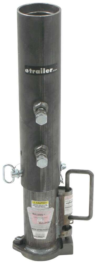 "Bulldog Gooseneck Coupler - Adjustable - Round - 2-5/16"" Ball - 30,000 lbs 30000 lbs GTW BD0289500300"