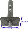 Bulldog Gooseneck-to-5th-Wheel Trailer Coupler Adapter - Round - 25,000 lbs No Offset BD0289580300