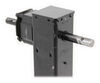 bulldog trailer jack side frame mount sidewind square 2-speed - drop leg w/ spring return 26 inch lift 10 000 lbs