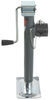 """Bulldog Round, Pipe-Mount Swivel Jack - Sidewind - 15"""" Lift - 7,000 lbs With Foot BD198250"""