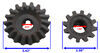 Replacement Gear Kit for Bulldog Sidewind Jacks w/ 12,000-lb Capacity Gears BD500212
