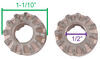 Replacement Sidewind Handle and Gear Kit for Bulldog Round Jacks - 2,000 lbs Handles and Cranks BD500256