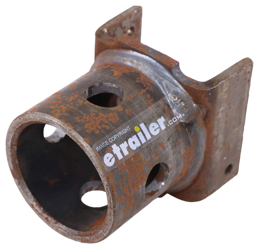 """Bulldog Replacement Pipe Mount for Swivel Jack - Weld On - 5/8"""" Pull Pin Pipe Mount BD500339"""