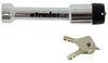 bulldog trailer hitch lock standard pin lifelong receiver for 2 inch hitches - flush 2-1/2 span chrome