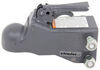 """Bulldog Cast Head Coupler w/ Wedge Latch - 2"""" Ball - Adjustable Channel - 8,000 lbs Trigger Latch BDA200C0317"""