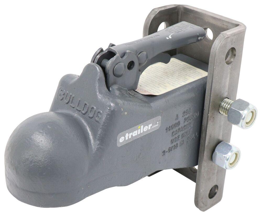 Bulldog 2-5/16 Inch Ball Coupler Adjustable Trailer Coupler - BDA2563C0317
