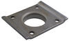 Replacement Weld-On, Flat, Snap-Ring Swivel Plate for Bulldog Jacks Swivel Plate BDP2052000
