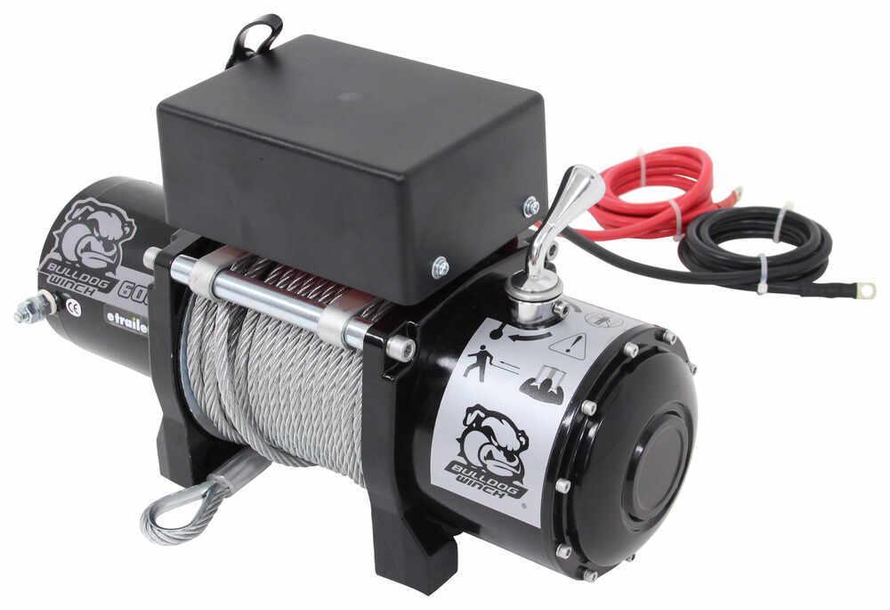 Electric Winch BDW10004 - Non-Submersible - Bulldog Winch
