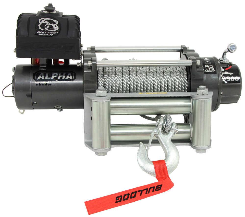 Bulldog Winch Plug-In Remote Electric Winch - BDW10013