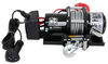 Bulldog Winch Trailer Winch - Wire Rope - Roller Fairlead - 5,800 lbs Slow Line Speed BDW10029